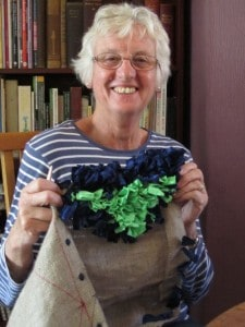 rag rugging,York ladies 004