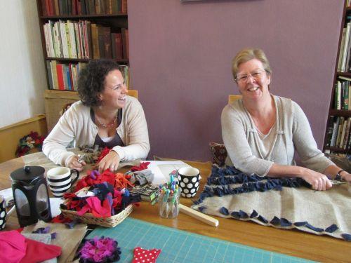 rag rugs at Chellow Dene 003