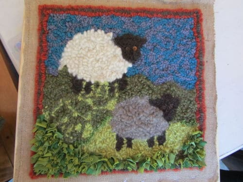 wool on wool, QAYG and crazy p'wk 011