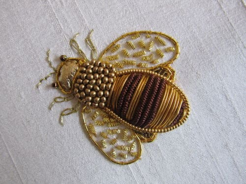 Goldwork, A Lewin style, K on Buzz 023