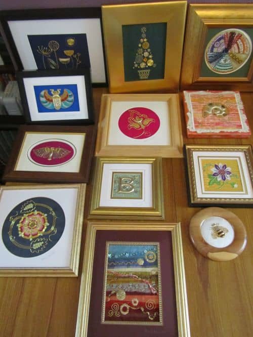 Goldwork,courses at Fabba & home 002