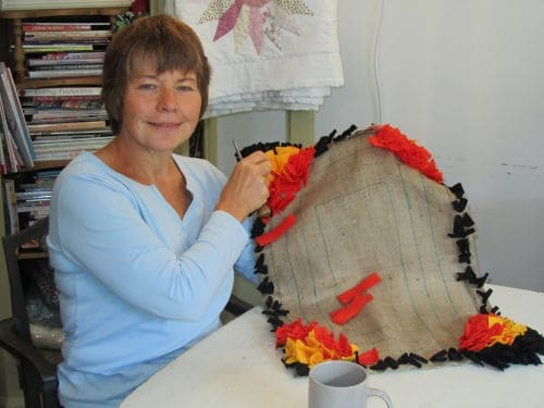 Goldwork,courses at Fabba & home 008