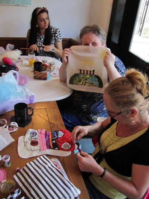 Goldwork,courses at Fabba & home 010