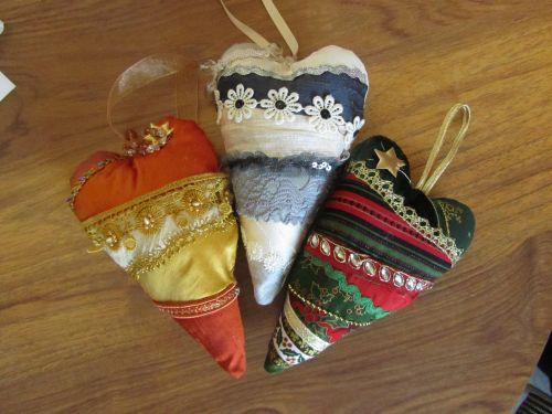 Zendoodlestitch,Janet's Xmas stocking & hearts,Crazy Xmas dec's, 020