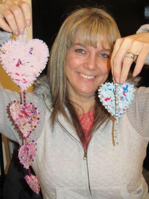 Zendoodlestitch,Janet's Xmas stocking & hearts,Crazy Xmas dec's, 031