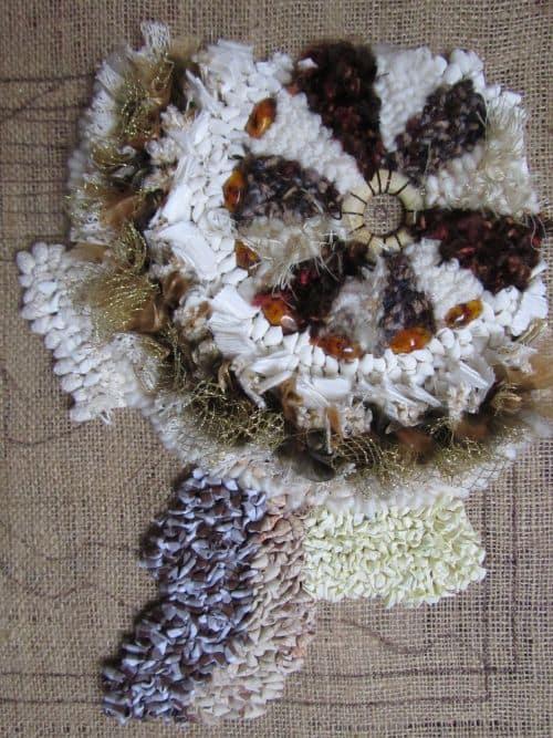 crazy p'wk, rag rugs, Hockney exhib'n 027