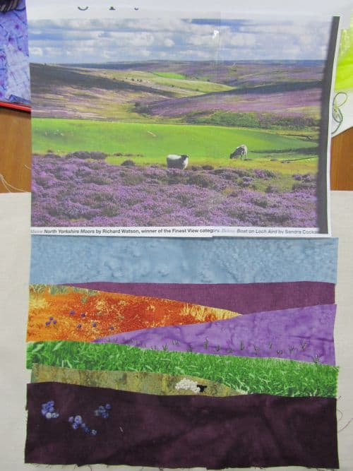 piglets,wool felt items,h&p landscapes,applique pics 032