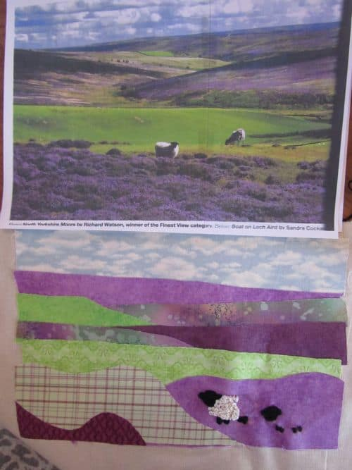 piglets,wool felt items,h&p landscapes,applique pics 039