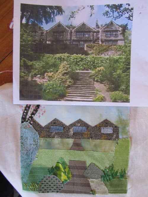 piglets,wool felt items,h&p landscapes,applique pics 041