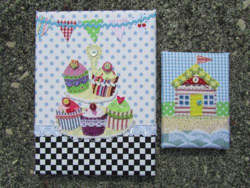 Cupcakes & beach huts,stumpwork dragonflies 001