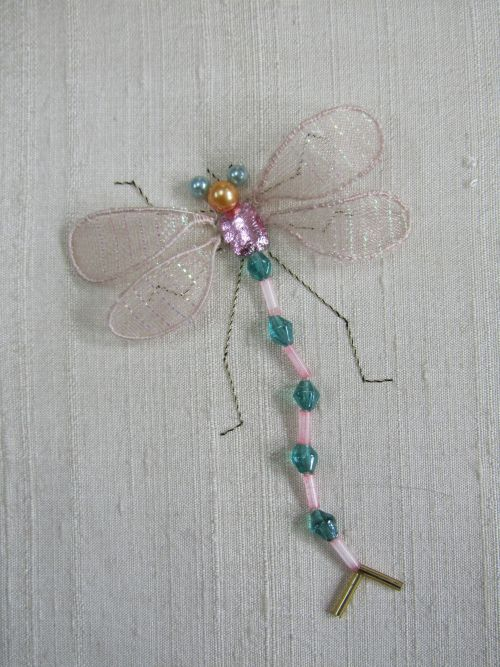 Cupcakes & beach huts,stumpwork dragonflies 011