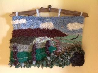 SA hooked rug