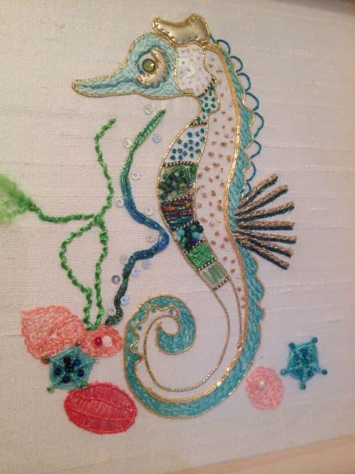 Steph seahorse